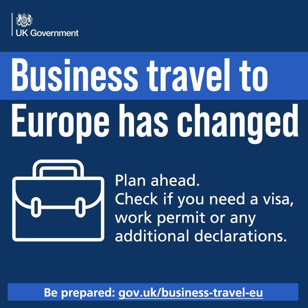 Plan ahead. Check if you need a visa, work permit or any additional declarations.  Be prepared: https://t.co/ZEX2GCcvX9  For information on testing go to➡ https://t.co/nKMUXVCeHa https://t.co/GVnQ5mHjKy