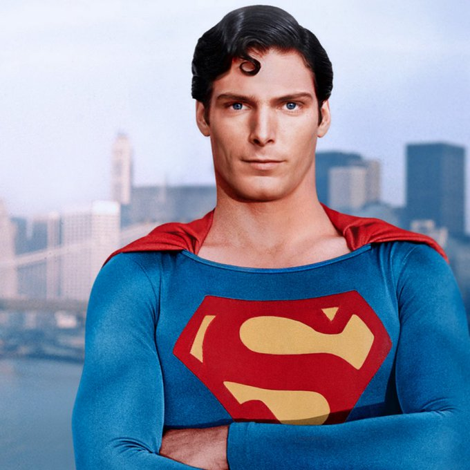 Christopher Reeve, who would have been 69 years old today, was such an iconic looking Happy birthday