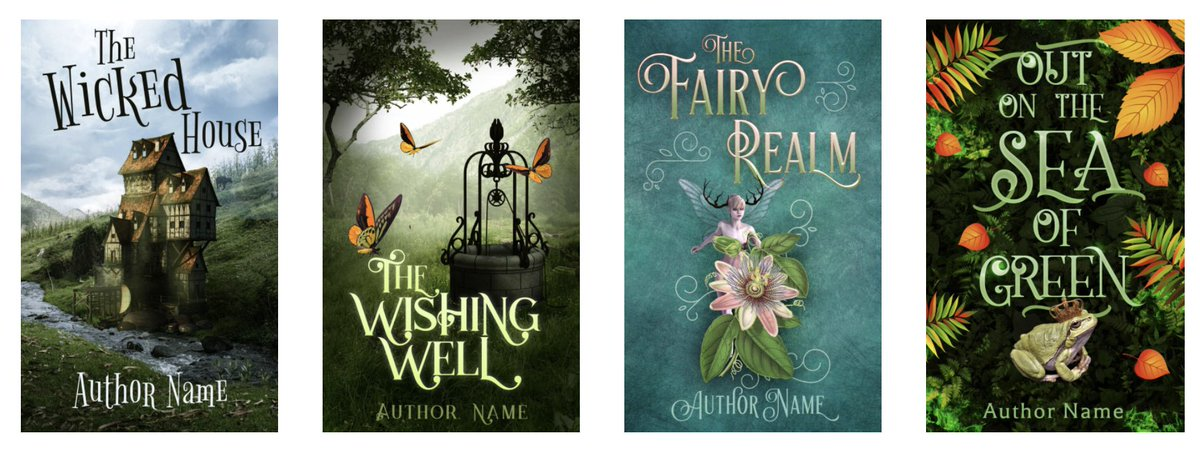 Fairytale premade #bookcovers pattyjansen.com/covers/product…