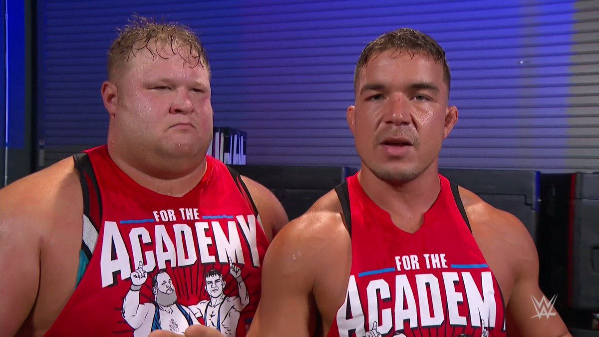 Alpha Academy's #1 GUY Announcement   The KARNAGE Continues Tonight in #WWEHershey PA 🇺🇸   #ForTheAcademy  #AlphaAcademy https://t.co/2TDTLkX5uq