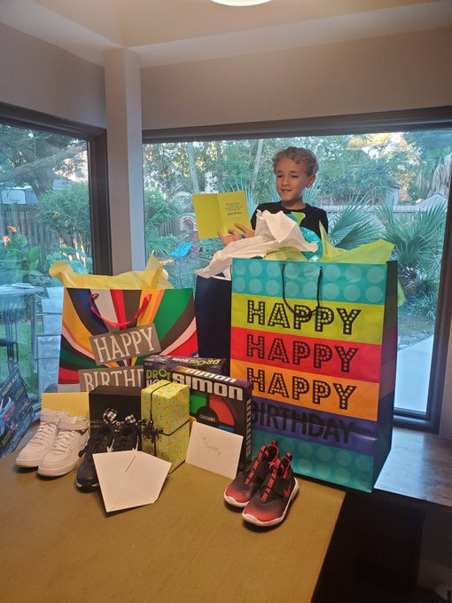 Join me in wishing Cayman a Happy 7th birthday!  Enjoy your day big boy! Love you!!!!