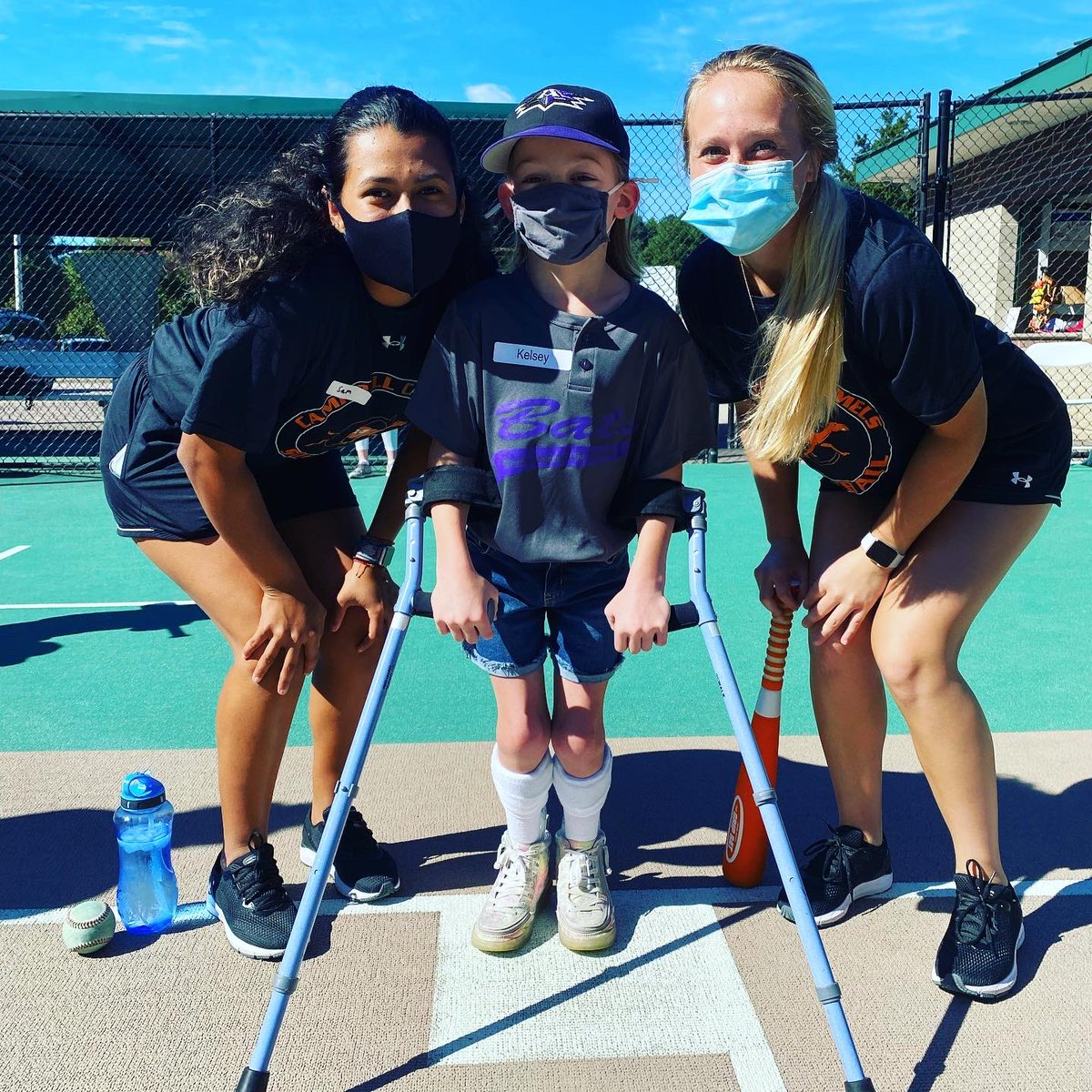 What an amazing day with The Miracle  League! Thank you so much for having us! #rollhumps #gocamels #softball #levelup https://t.co/rB6a0LXA6R