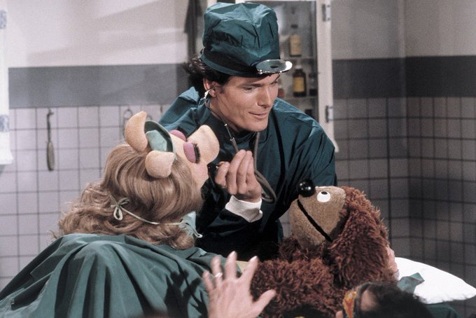 Happy birthday to (at least) three Muppet Show guests: Christopher Reeve, and Juliet Prowse!