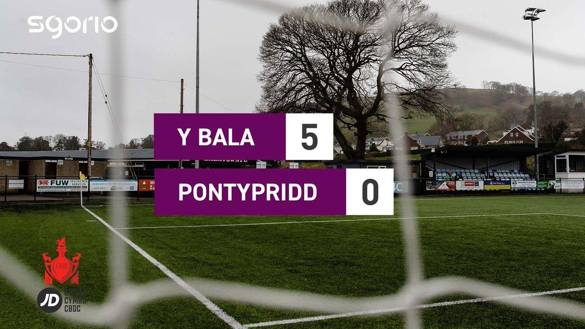 Image for the Tweet beginning: Uchafbwyntiau | Highlights: @BalaTownFC 5-0