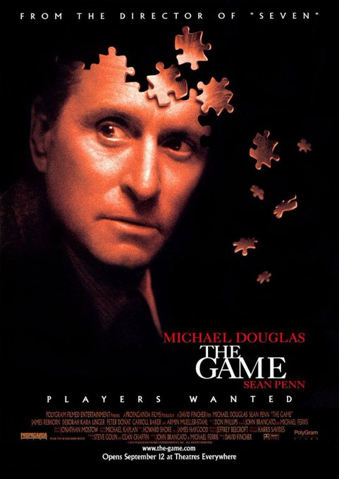 Happy birthday Michael Douglas! My personal fave of his is The Game
