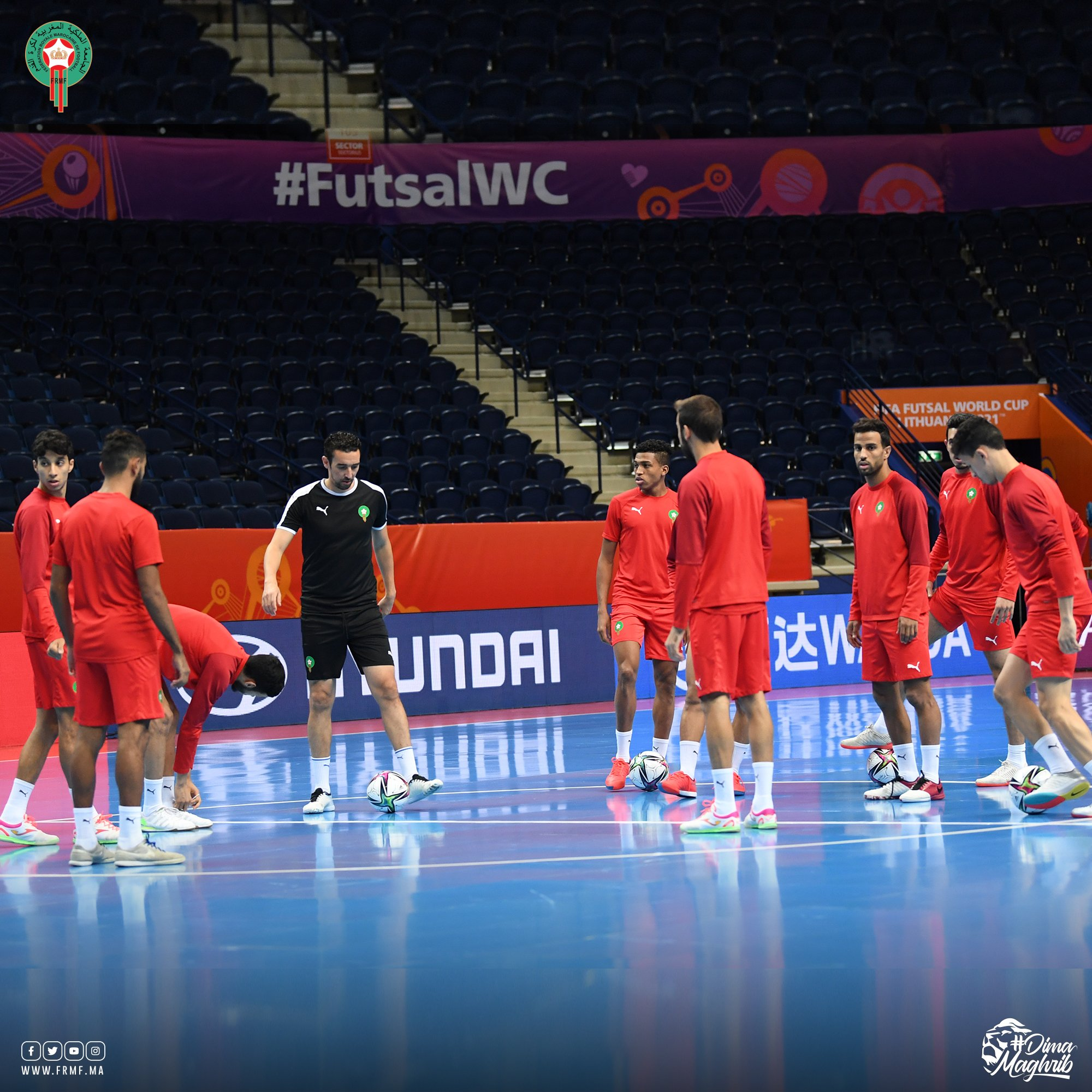 مباراة المغرب والبرازيل داخل القاعة .. توقيت مباراة المغرب والبرازيل اليوم .. موعد مباراة المغرب والبرازيل داخل القاعة