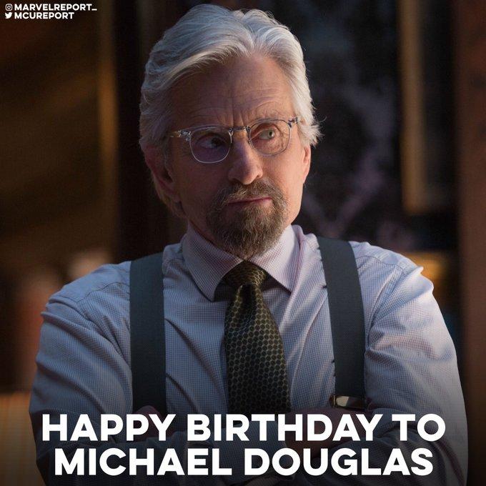 Happy Birthday to Michael Douglas who turns 77 today