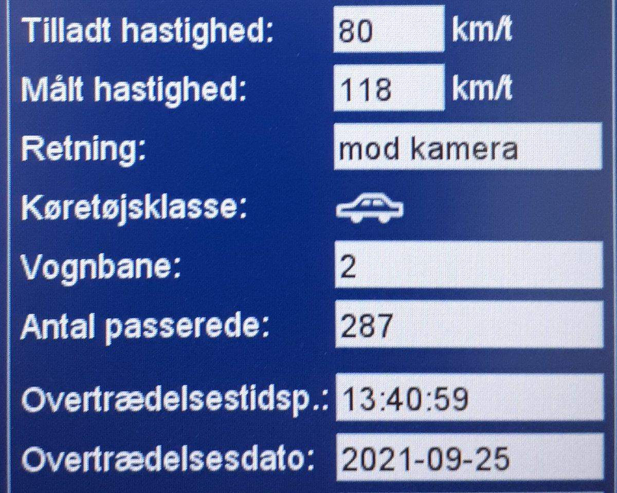 ATK har i dag besøgt vores faste udpegede strækning Løgumklostervej ved Skærbæk i Tønder kommune. Desværre havde 35 bilister for travlt, så de får en hilsen i E-boks. 4 får desuden et klip i kørekortet for hastigheder op til 118km/t i 80zone #atkdk #politidk https://t.co/80aQsnb2x2