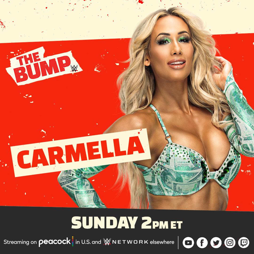 TOMORROW on an #ExtremeRules edition of #WWETheBump!  @CarmellaWWE @MsCharlotteWWE @JEFFHARDYBRAND https://t.co/rWIbADkOAO
