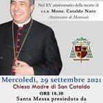 Image for the Tweet beginning: XV ANNIVERSARIO  della Morte di