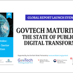 Image for the Tweet beginning: The #GovTech Maturity Index measures