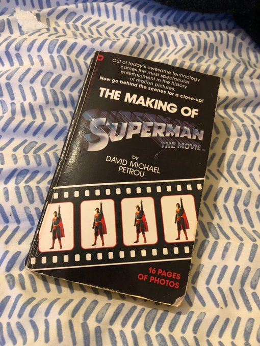 Happy Birthday Christopher Reeve. Coincidentally, I finished reading this today
