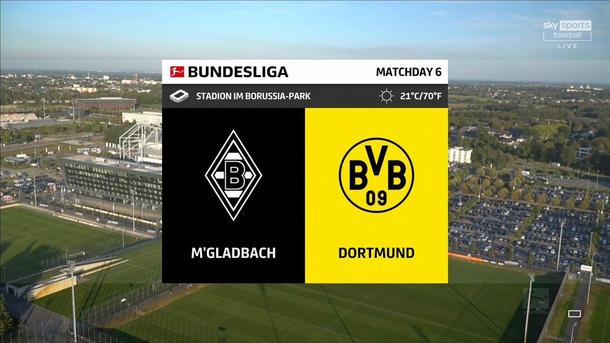 Full match: Borussia Monchengladbach vs Borussia Dortmund