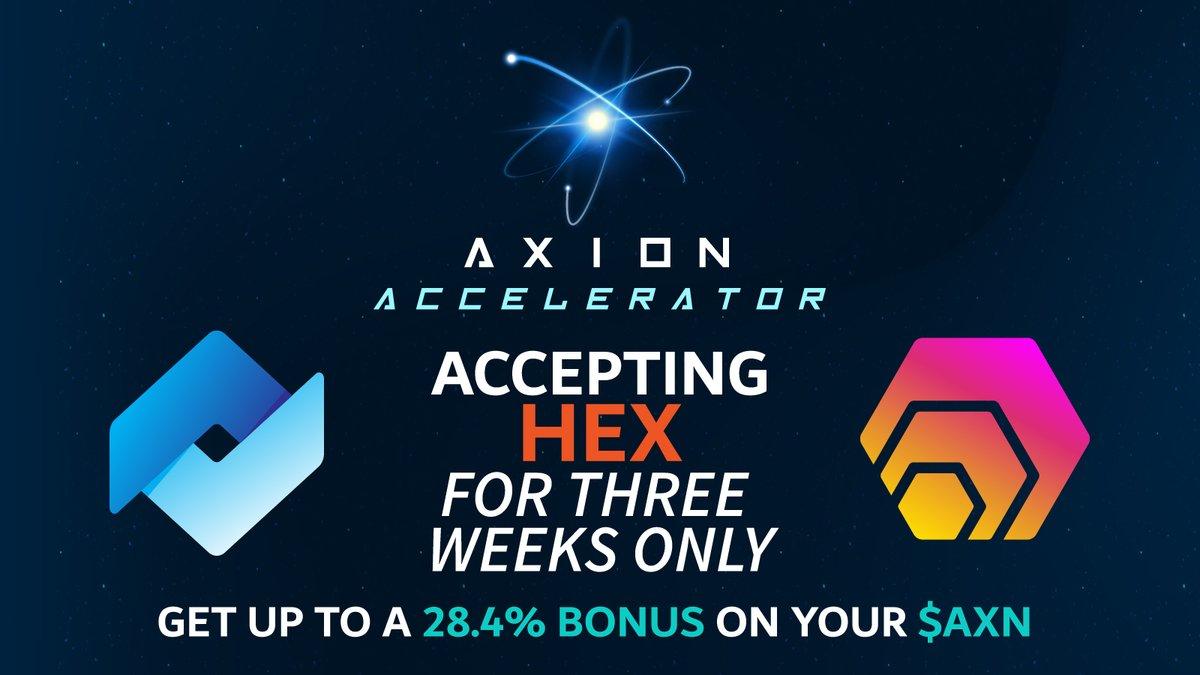Tweet by @axion_network