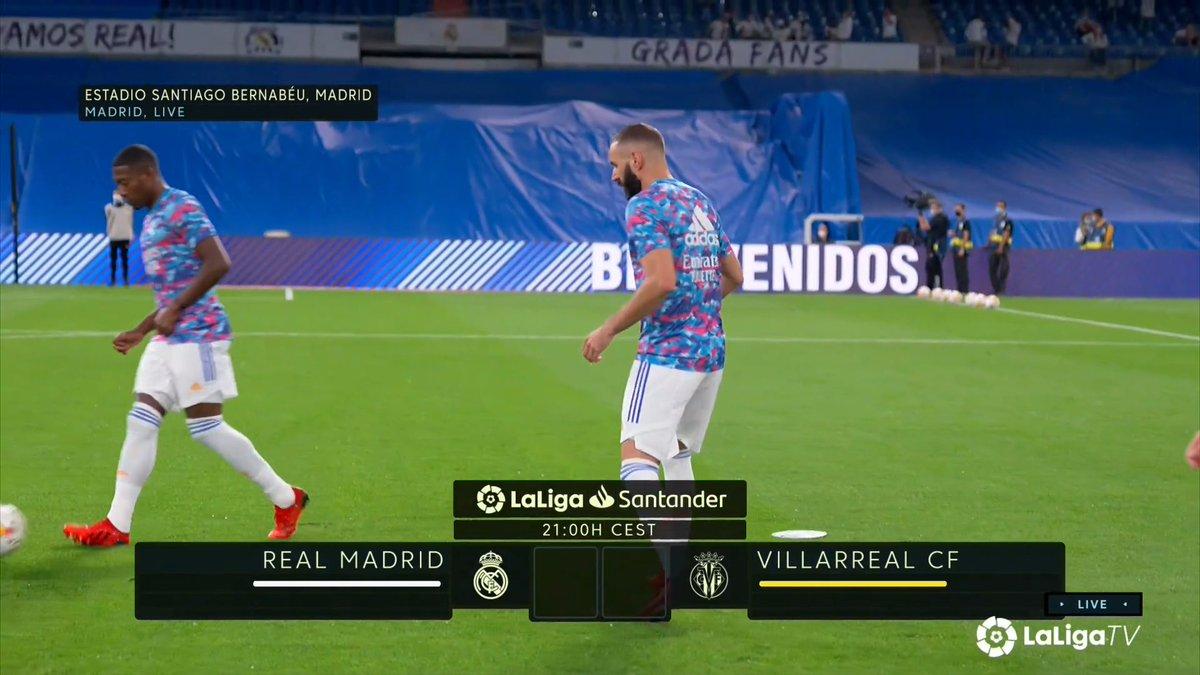 Full match: Real Madrid vs Villarreal