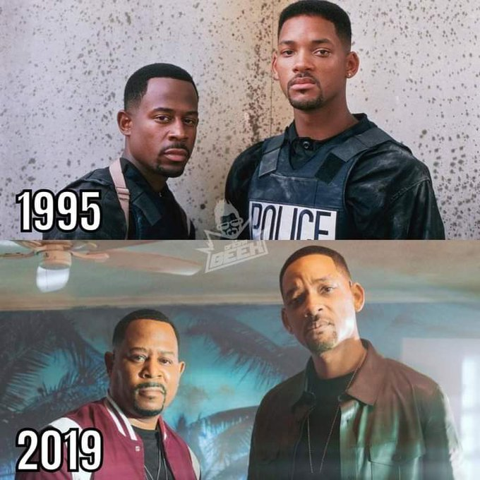 Happy Birthday Will Smith Will Smith & Martin Lawrence After 24 Years..