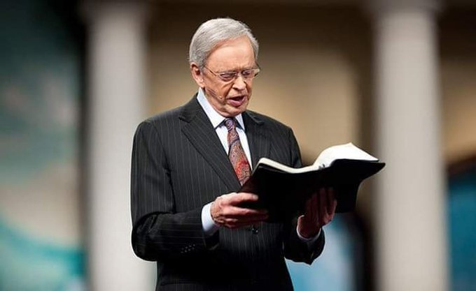 Happy 89th Birthday to  Rev. Charles Stanley of In Touch Ministries!
