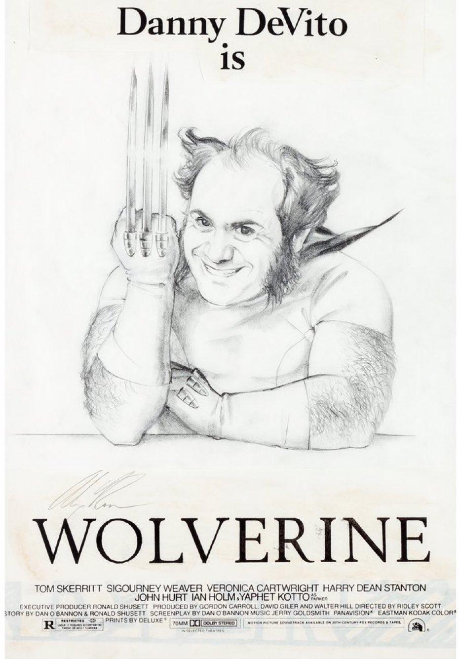 Danny DeVito Imagined As Wolverine In Alex Ross Art