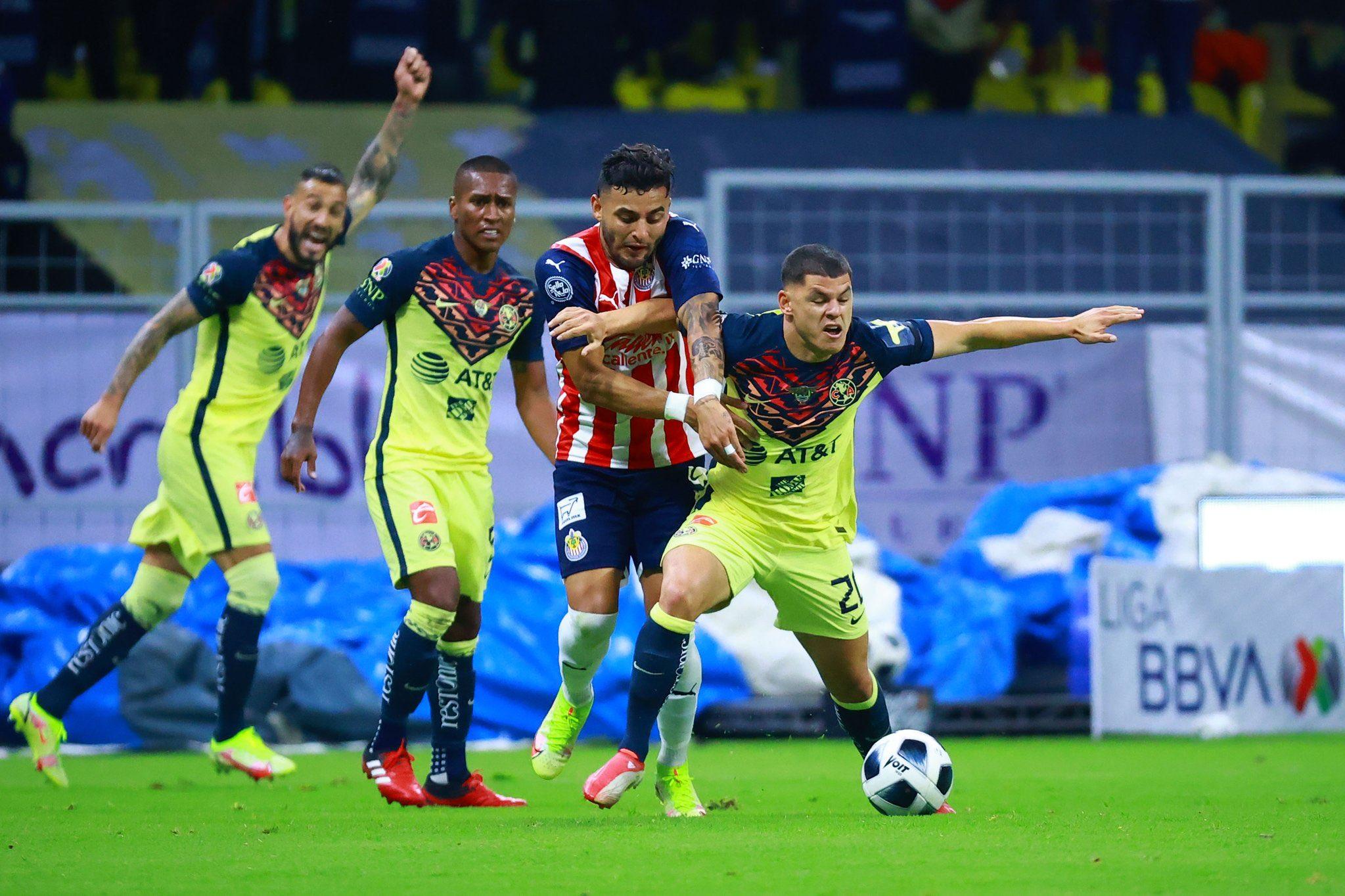 América vs Chivas 0-0 Torneo Apertura 2021