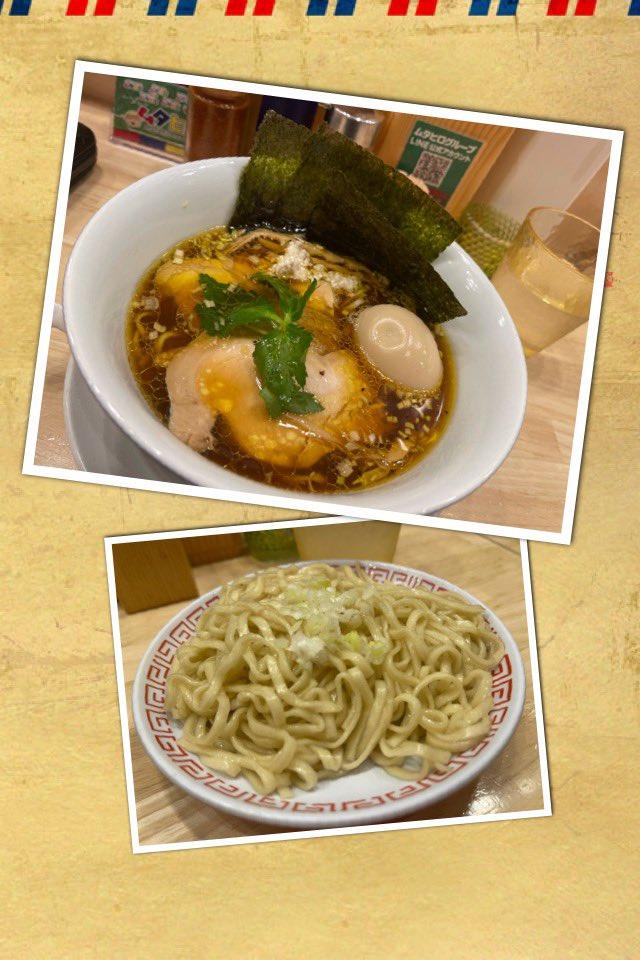 鶏そば  ムタヒロ 2号店     へ  特製醤油鶏そば  +替玉#ラーメン
