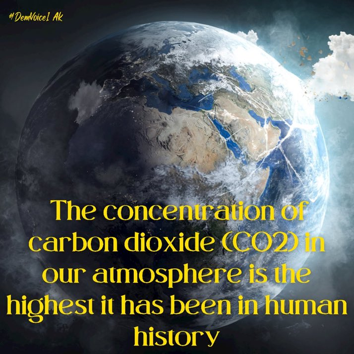 Humans need oxygen. Fact. CO2 will kill us. Fact.  No fancy graphs and statistics…. Just facts.  #ClimateEmergency  #wtpEARTH  #ResistanceUnited