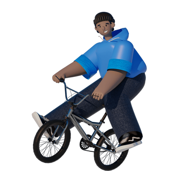 Image for the Tweet beginning: Learning to ride a bike