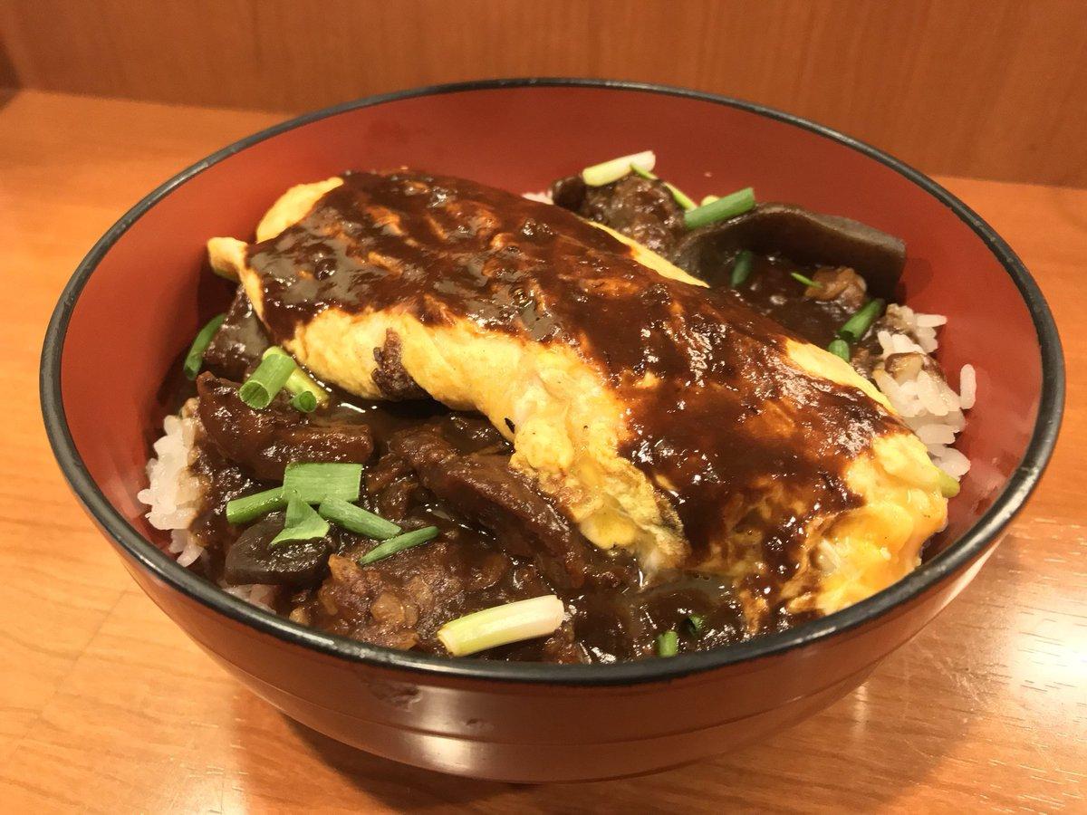 愛知県民の血液 赤味噌を使用したドテオムライスとダークブラウンの魅惑の味噌おでん!(愛知県名古屋市中区栄)  #tabelog