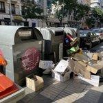 Image for the Tweet beginning: #MadridCiudadSinLey #MadridDaAsco C/ Ortega y Gasset