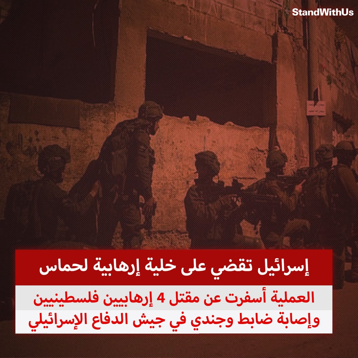 قامت قوات الأمن الإسرائيلية بالقضاء على خلية إرهابية لحماس في يهودا والسامرة كانت تخطط لشن هجمات إرهابية…