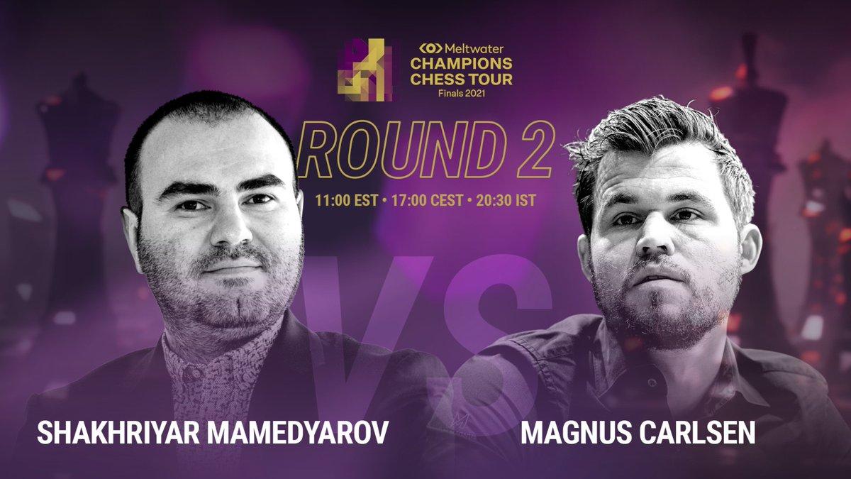 test Twitter Media - RT @Shakhmamedyarov: Playing today @MagnusCarlsen  17:00 CEST https://t.co/lJvRlwr2KA  #ChessChamps #TourFinals2021 https://t.co/uDmhbgGeB8