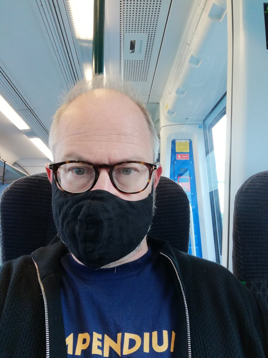 One other person wearing a mask on the carriage I am in. England is a country that wears its ignorance and selfishness as a macabre badge of honour and pride. I hate being this negative but it is as if we are desperate to lose the advantages of vaccination.