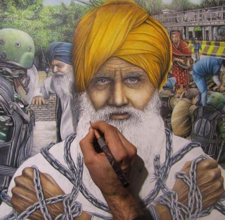 #कल_भारत_बंद_रहेगा  गर्व से कहो हम भारतीय किसान है हम भारत की शान है जय किसान