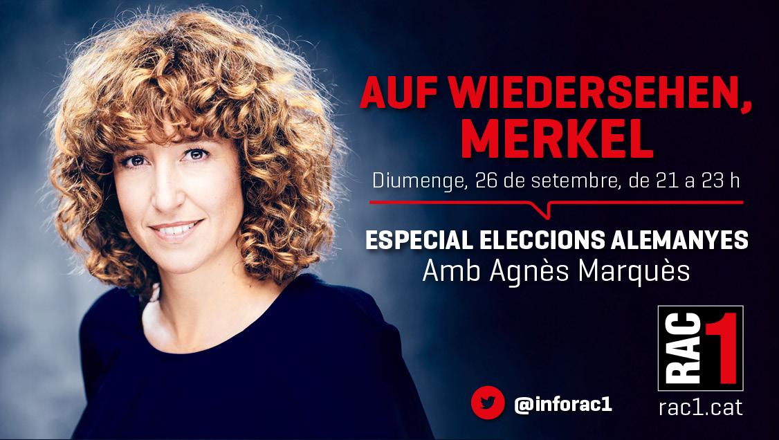 🔴 COMENÇA ARA L'ESPECIAL INFORMATIU sobre les eleccions a Alemanya amb @MarquesAgnes @infoRAC1