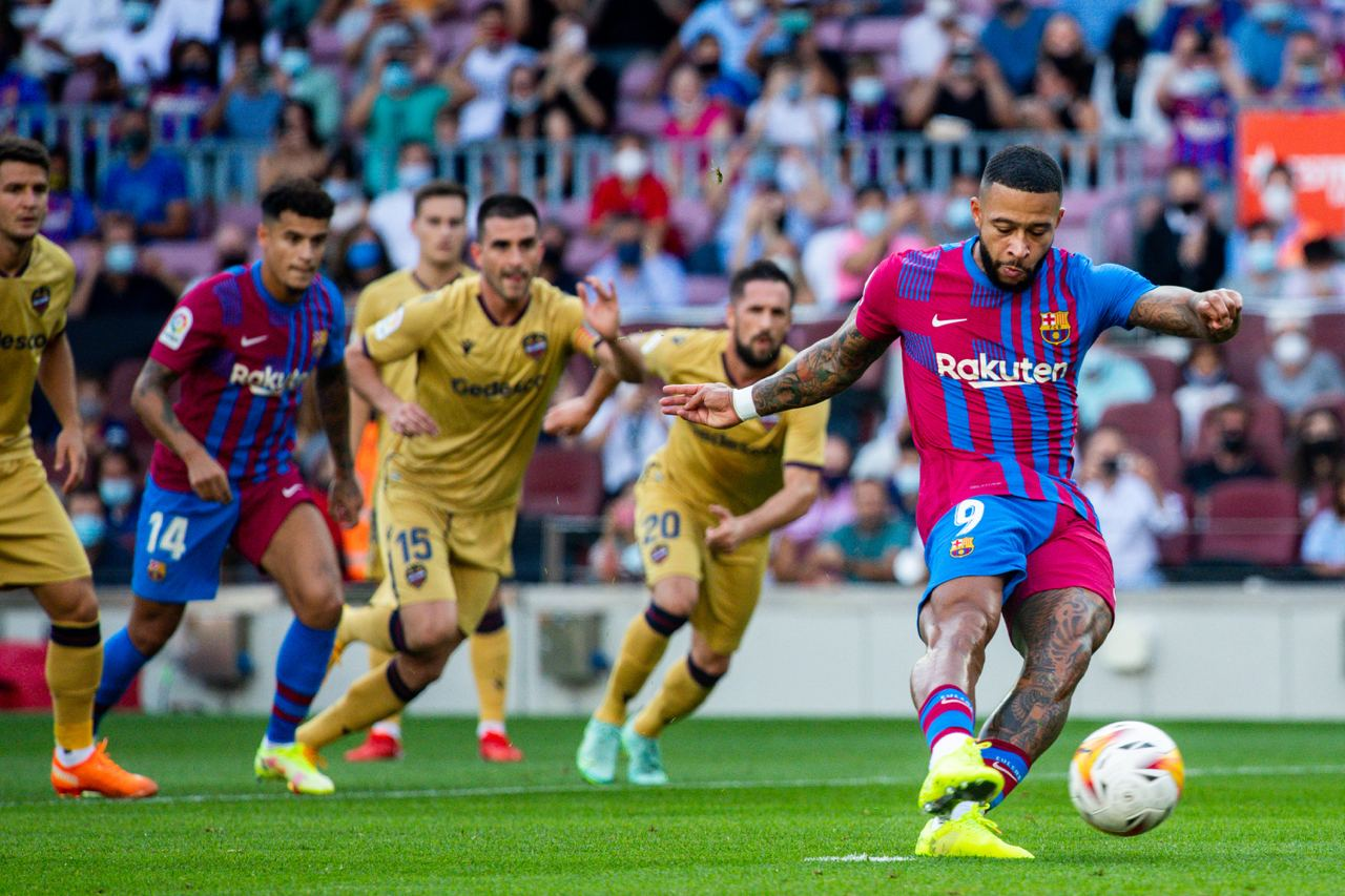Barcelona vs Levante 3-0 Liga Española 2021-2022