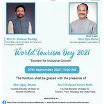 Image for the Tweet beginning: Ministry of Tourism will mark