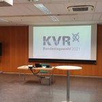 Image for the Tweet beginning: Im #KVR geht es jetzt
