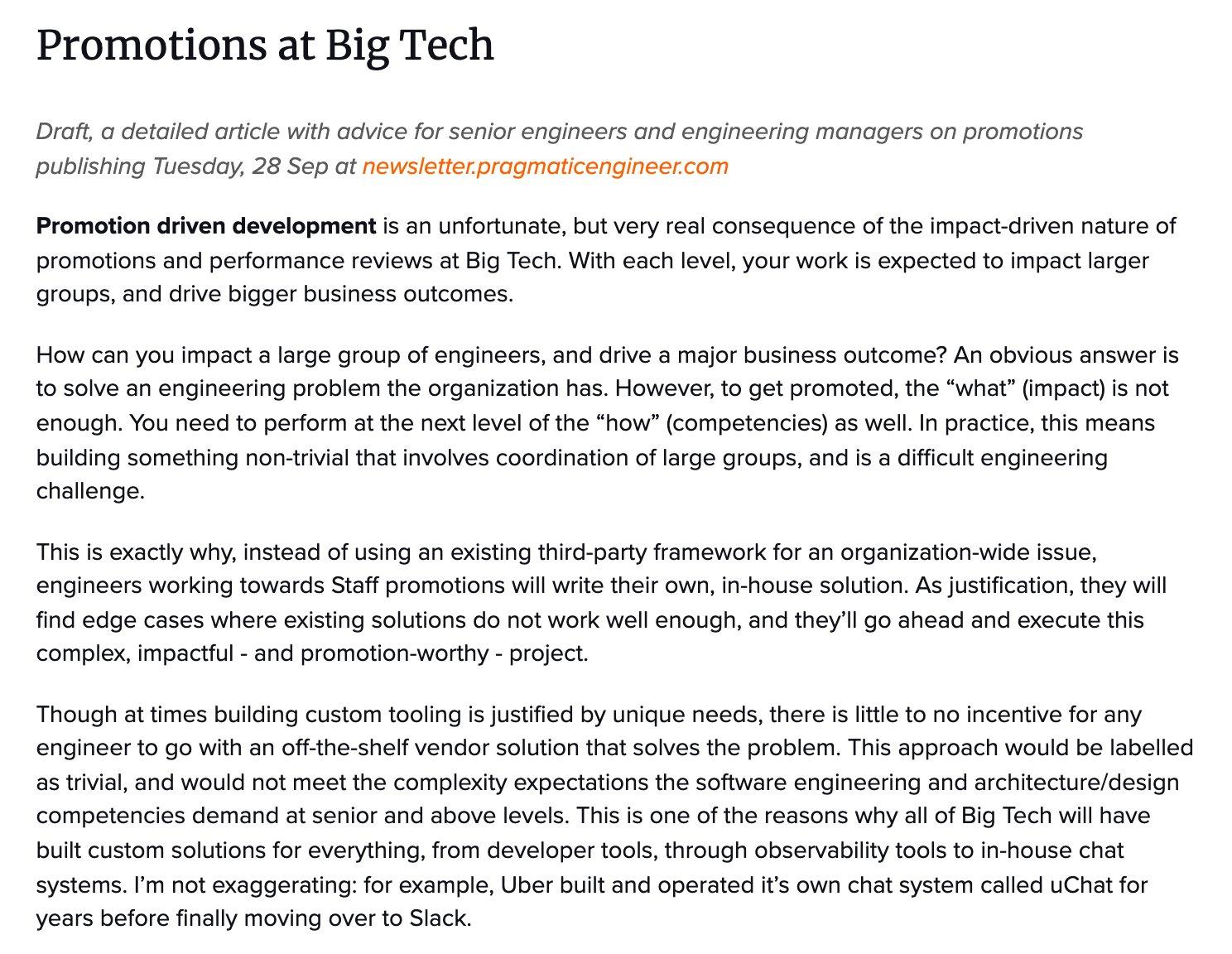 Writing http:// newsletter.pragmaticengineer.com    & @EngGuidebook. Previously @Uber, @Skype, @Microsoft. Books: http:// blog.pragmaticengi