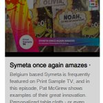 Image for the Tweet beginning: Once again, Symeta amazes! Here's
