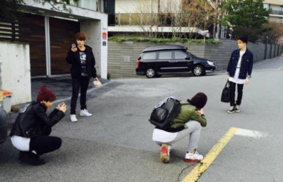 Mulți fani BTS nu își mai amintesc povestea comică din spatele acestei fotografii