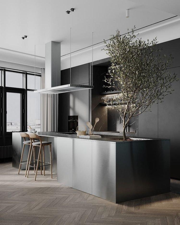 Loving every bit of this kitchen.  #kitchendesign #kitchen #interiordesign #kitchendecor #homedecor #design #interior #kitchenremodel #home #homedesign #architecture #kitcheninspo #kitcheninspiration #kitchensofinstagram #kitchenrenovation #decor #iconic #interiors #kitchenset