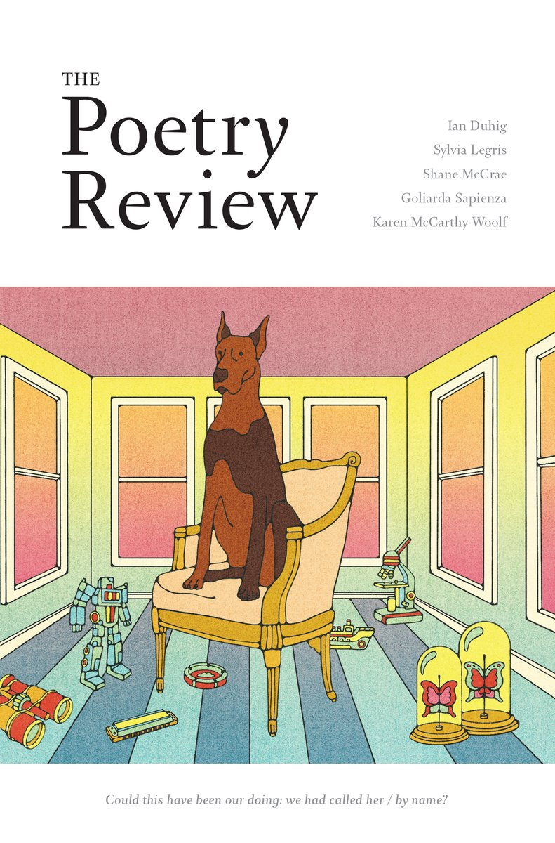 test Twitter Media - A big dog @KateDehler welcomes you to the new Autumn issue of #PoetryReview ed. @no1_emily. Sample content & get your issue here https://t.co/eY4QNz5dHY https://t.co/A8lSCBXHxL