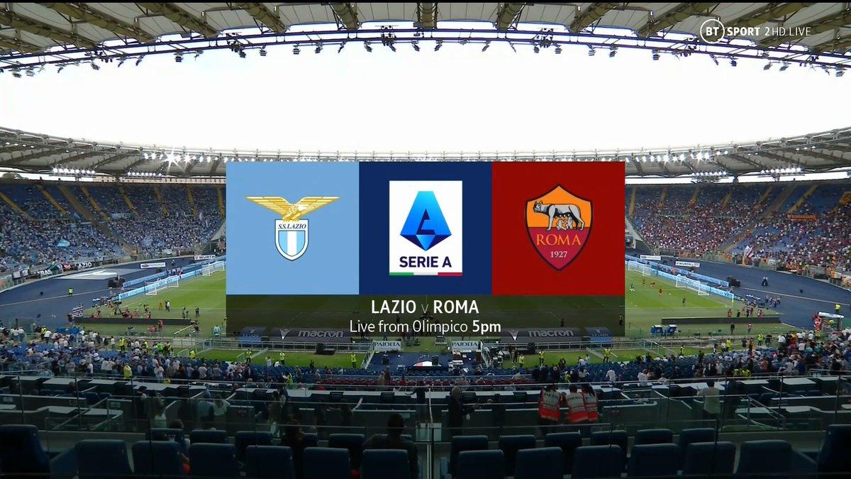 Full match: Lazio vs Roma
