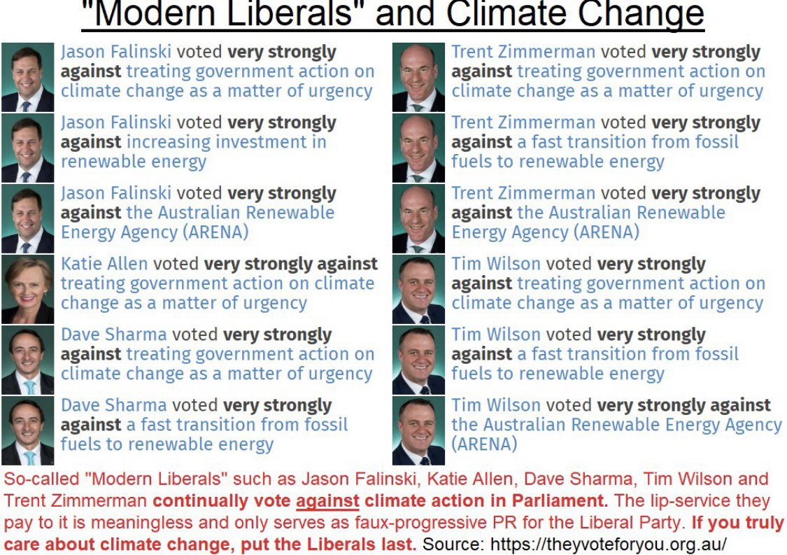 A vote for @JasonFalinskiMP 👇🏼is a vote to give @Barnaby_Joyce, George Christensen & Matt Canavan veto power over Australia's climate policy 🤦♂️🆘🌏 Check out @simonahac's proposal: @climate200