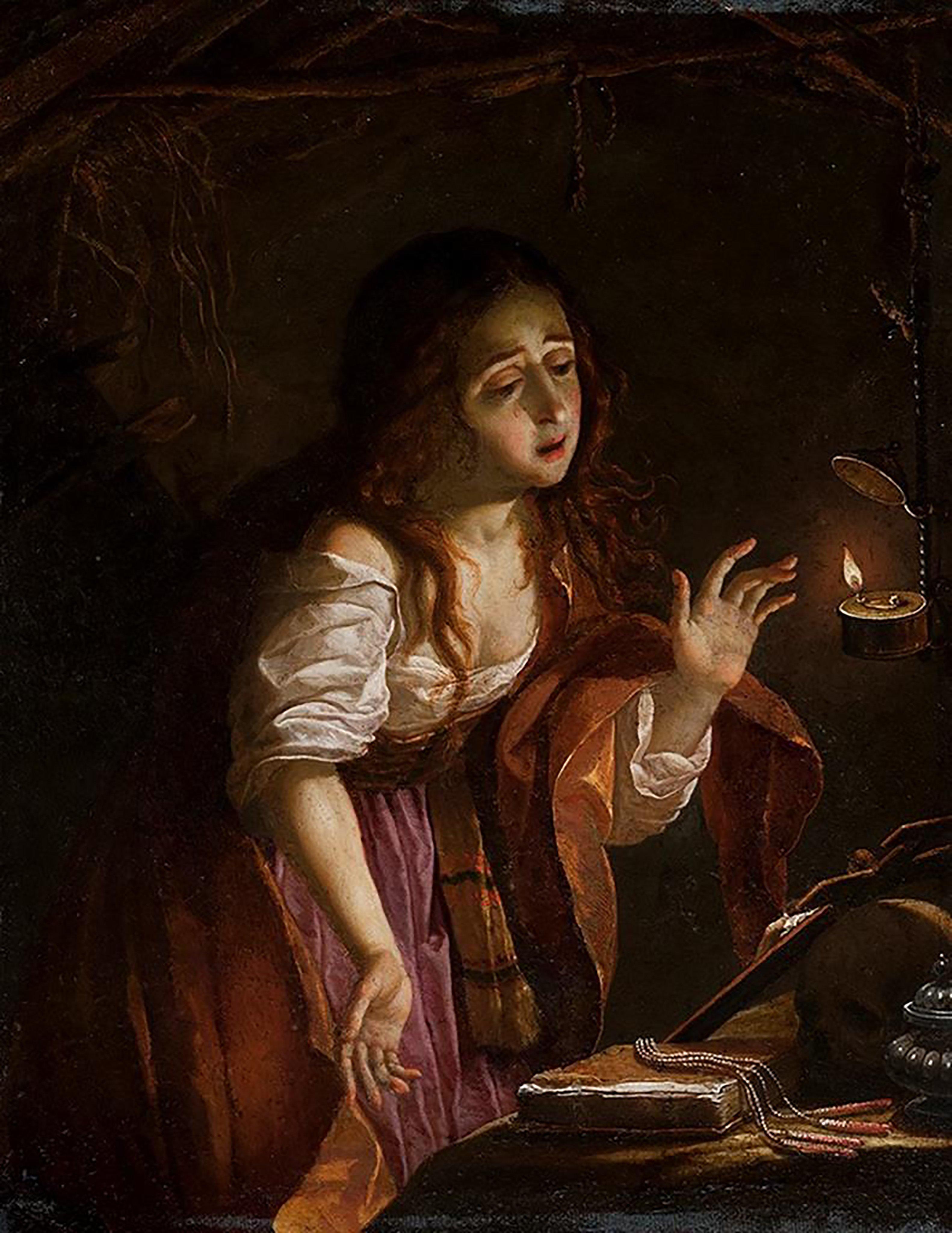 A penitente santa Maria Madalena