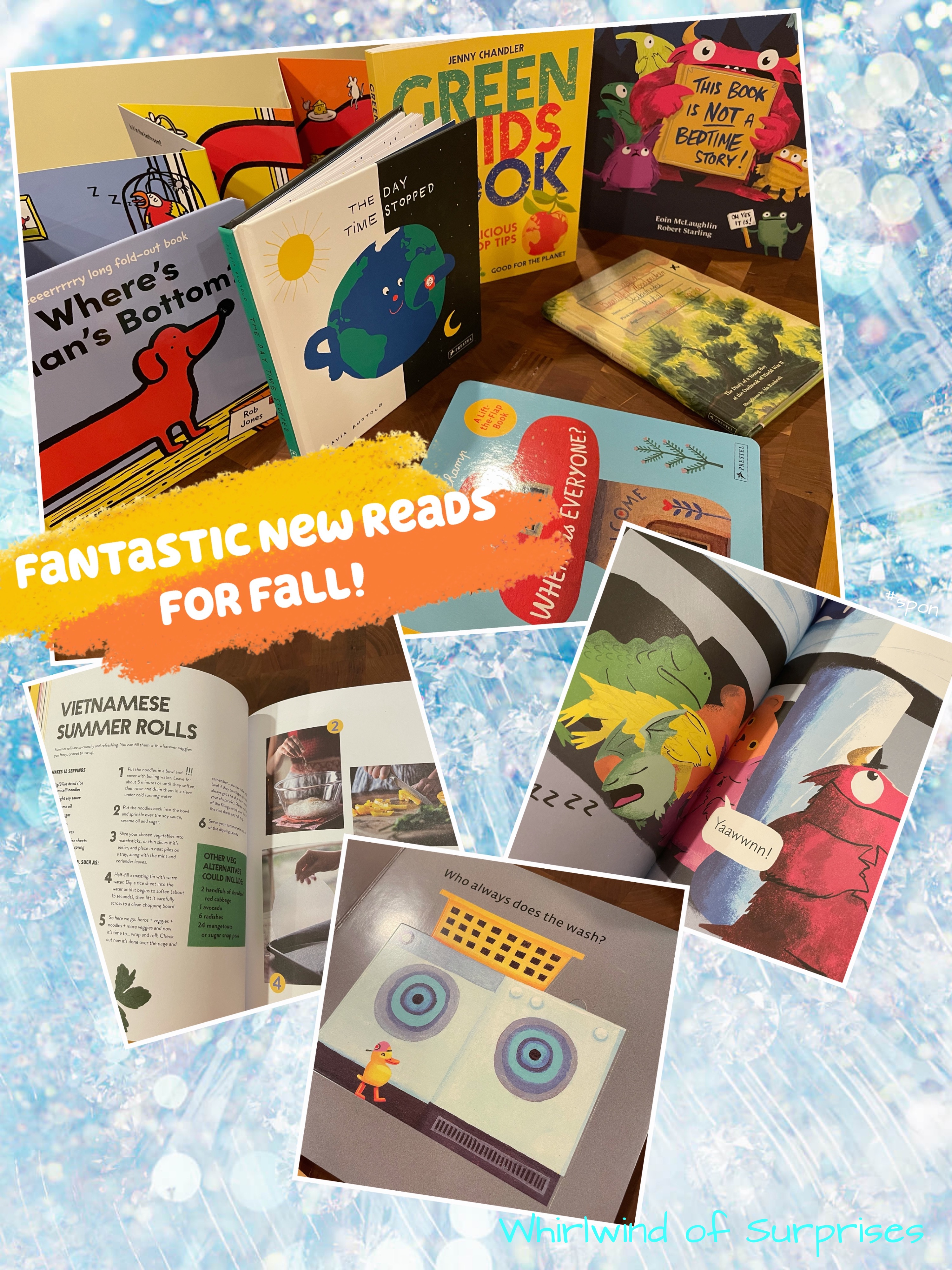 Pastel and Pavilion Top Picks for Fall Reading