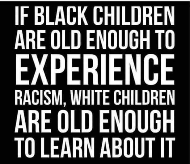 Learning about racism…