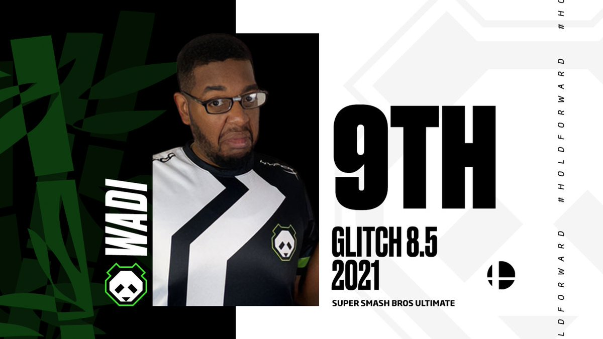 Amazing performances from all our players at Glitch 8.5 this weekend.  With @imESAM taking singles and @Marss_NE winning doubles, it's a good day to be a Panda fan. #HoldForward