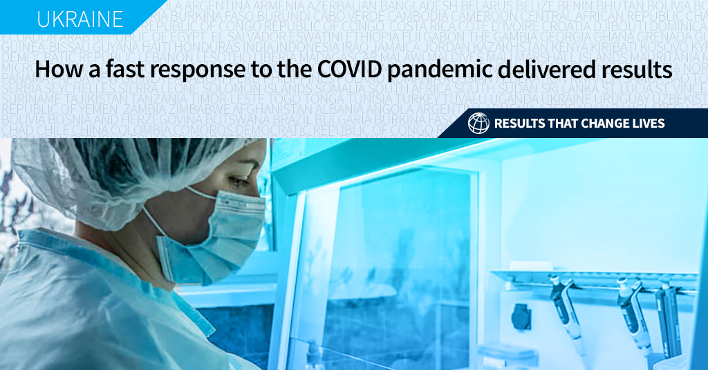 Until May-June 2020, there was no testing capacity. [...] Now, it is about 50,000-60,000 tests each day. This project helped #Ukraine tackle the COVID-19 pandemic: wrld.bg/uqqC50Ggkoe #ChangingLives