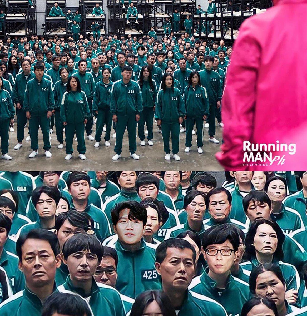 The cameo we didn't know we needed.. 😆  #runningman #SquidGame #전소민 #kimjongkook #yoojaesuk #유재석 #김종국