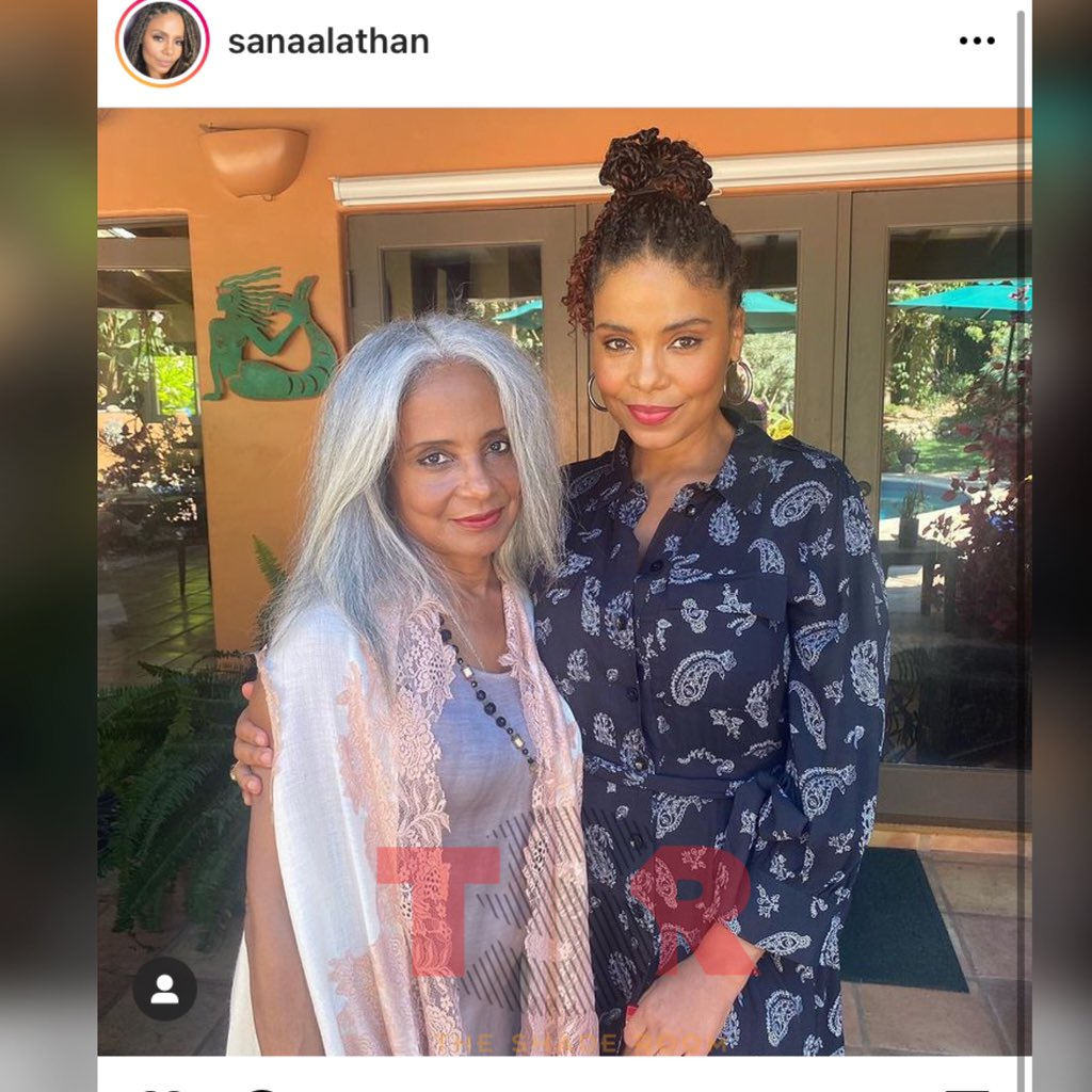 Sanaa Lathan has her mama's whole face!♥️ https://t.co/boz7w1spmx